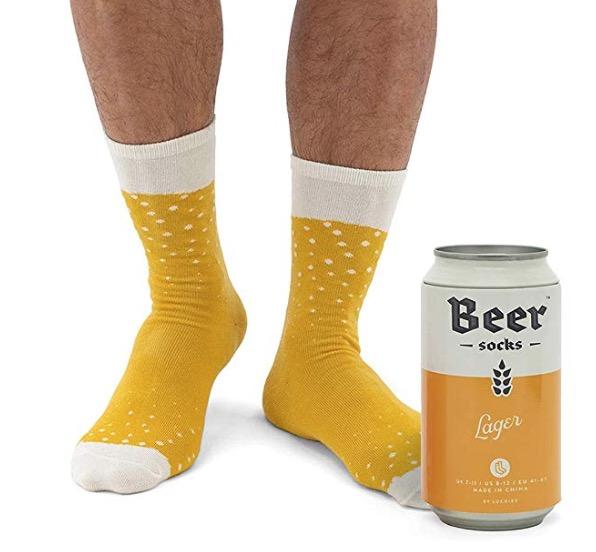 Cadeau chaussettes bière