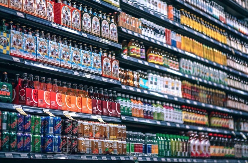 Couleurs bières supermarché