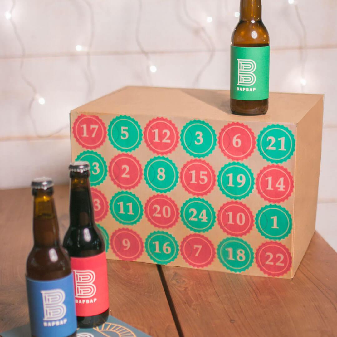 calendrier de l'avent biere BAPBAP